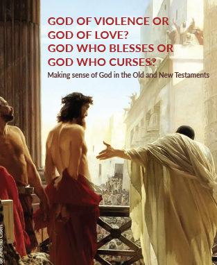God of violence or God of love? God who blesses or God who curses? image