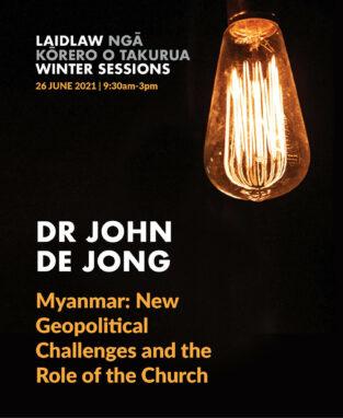 2021 Winter Sessions 2 - Dr John de Jong image